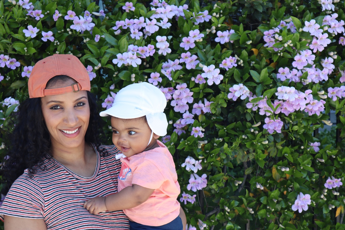 My wife Safura and our daughter Noémie